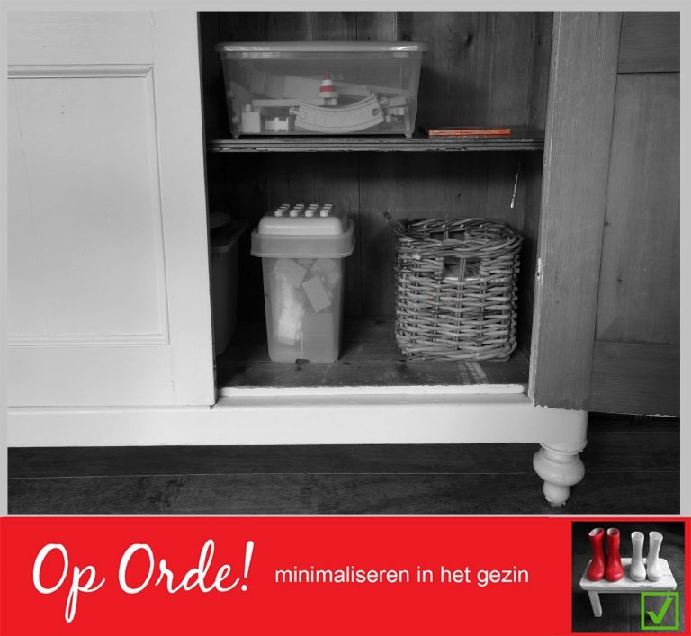 Tip 316: Puinhoop in de kast