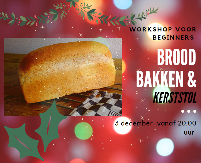 Workshop broodbakken 3 december