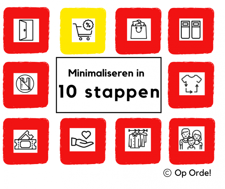 Minimaliseer in 10 stappen