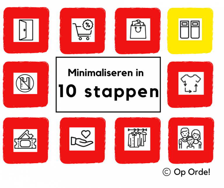 Minimaliseren in 10 stappen
