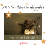 Minimaliseer in december (4)