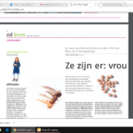 Tips in het Nederlands Dagblad