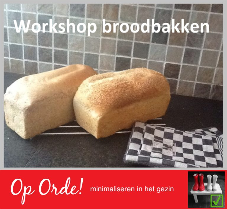 Workshop broodbakken (vol)