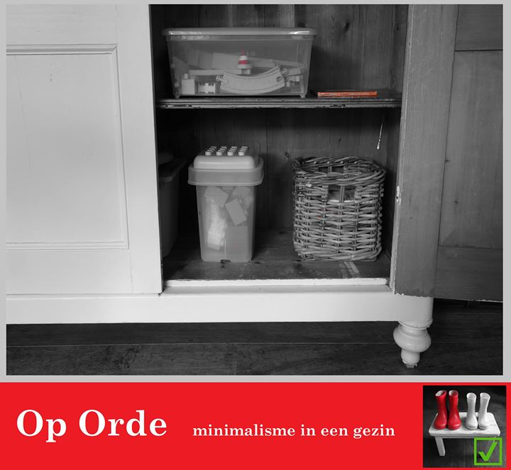 Tip 113: Puinhoop in de kast