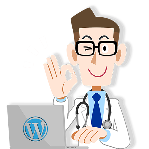 wordpress website man