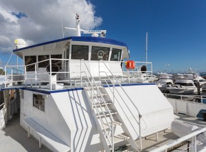 Commercial Vessel with Life Cell Installation