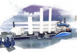 offshore wind feeder vessel